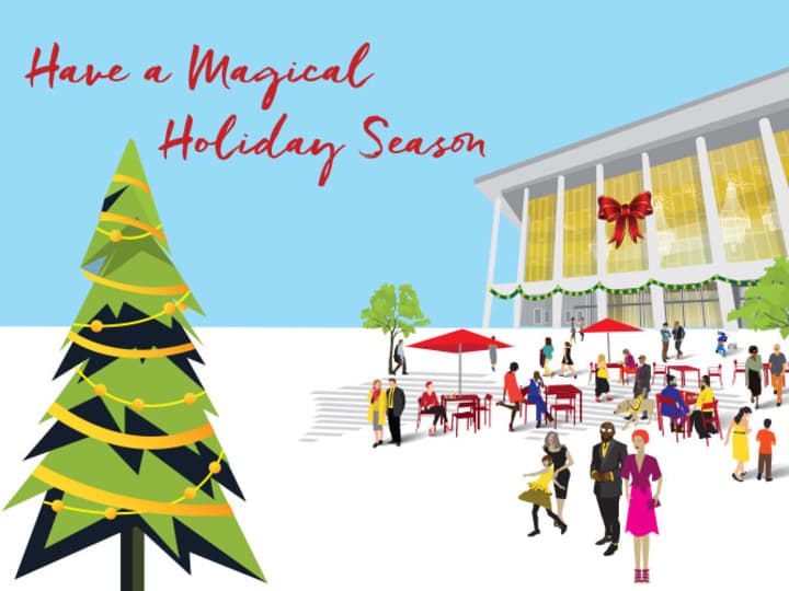 Artwork for Happy Holidays from LA Opera!