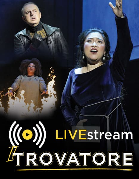 Il Trovatore Live Broadcast