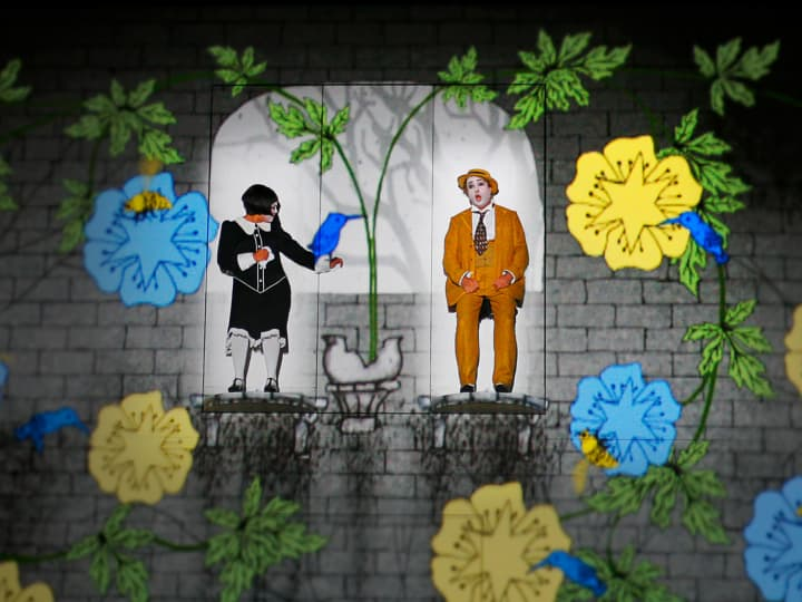 Artwork for The Magic Flute Scene-By-Scene by Frederick Ballentine