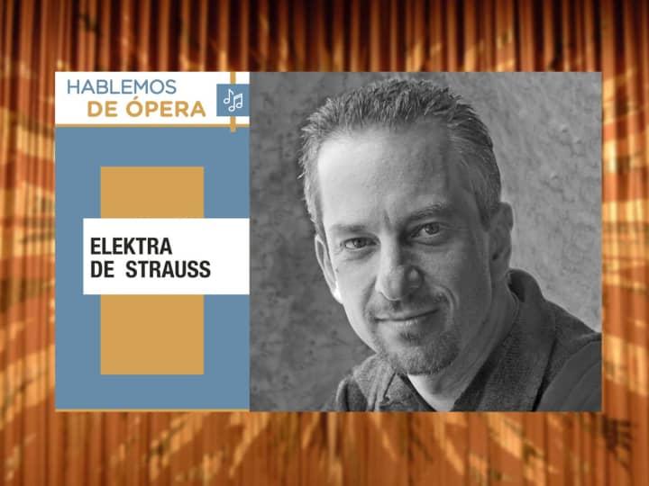 """Artwork for Descarga Cultura UNAM y Gerardo Kleinburg presenta """"Elektra de Strauss"""""""