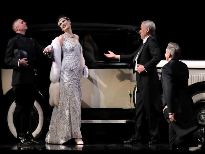 "Artwork for Behind the Curtain: James Conlon's Pre-Performance Talk on ""La Traviata"""
