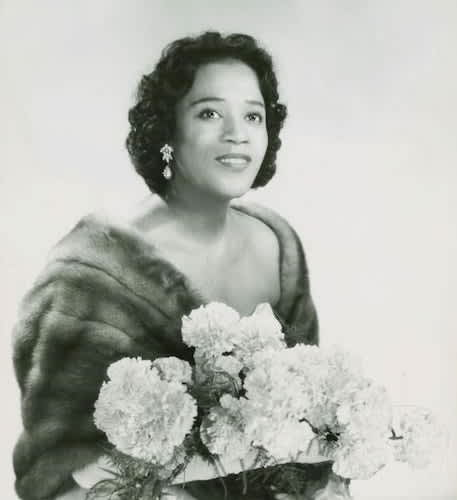 Camilla Williams IU Archives