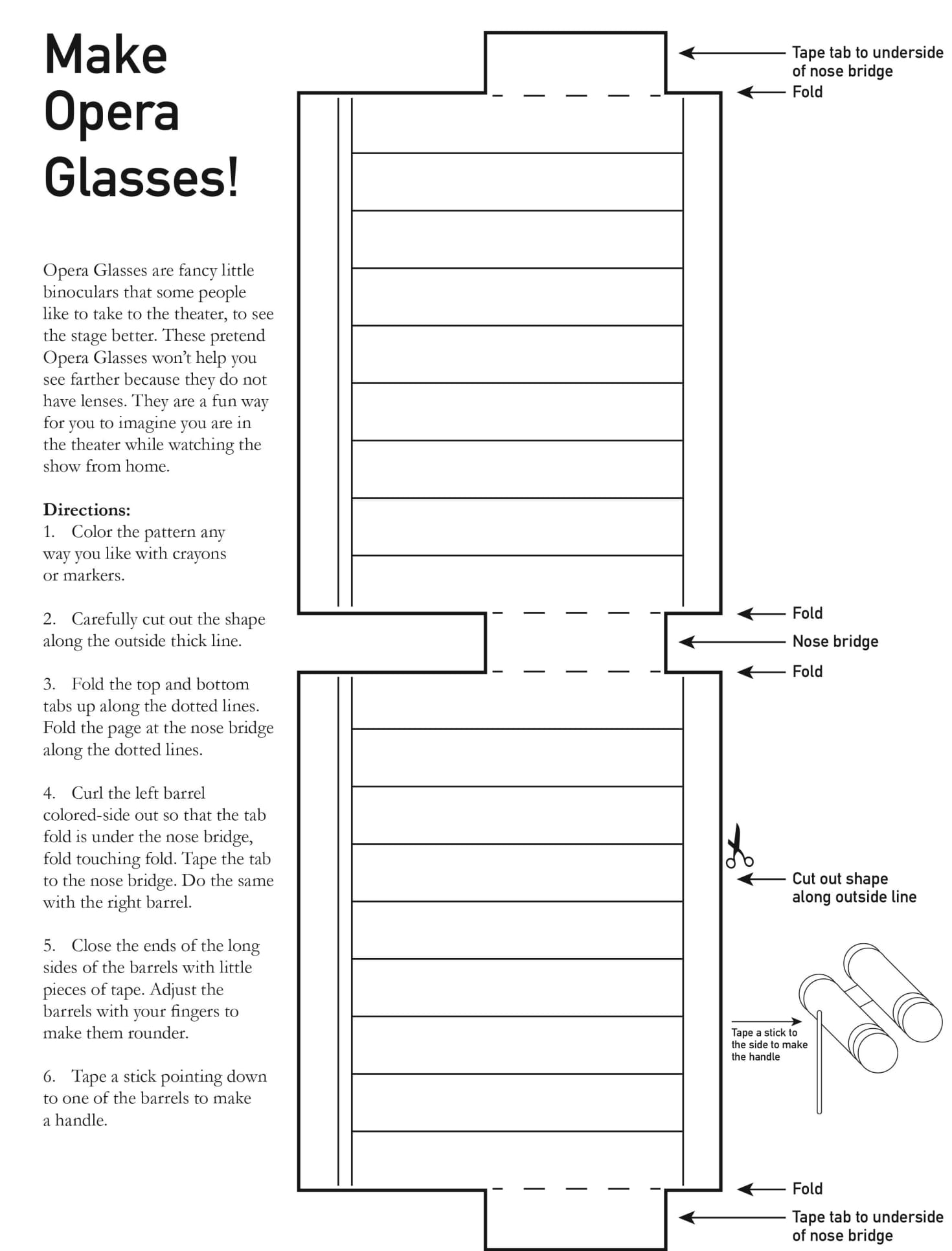 ODD Activity OperaGlasses