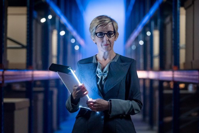 Julie Hesmondhalgh in Doctor Who