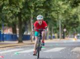 Fairfield Pupil riding a bike for their extra-curricular activity