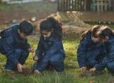 Fairfield children in Forest School
