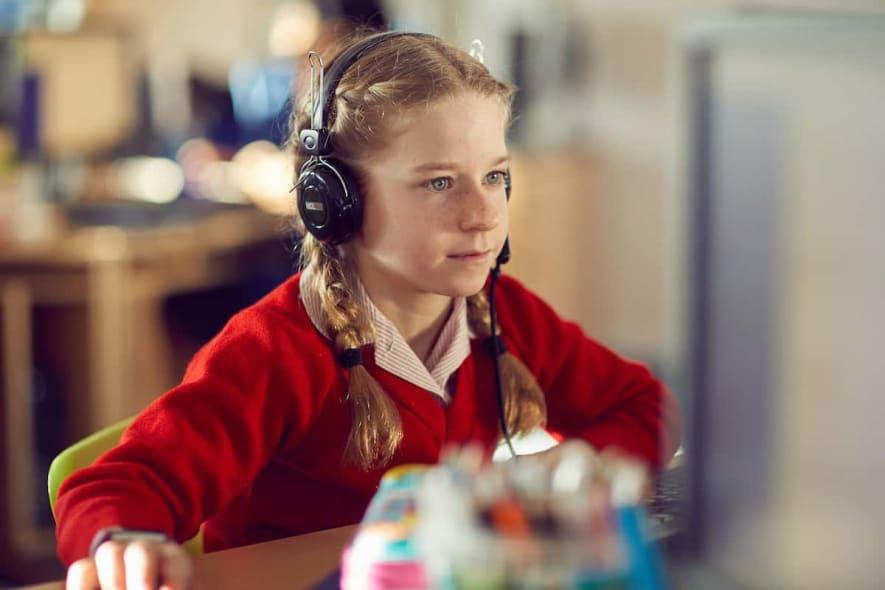 Fairfield children in the ICT suite