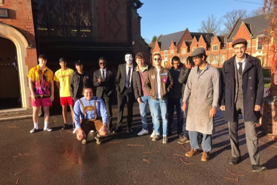 Loughborough Grammar School Staff and Pupils take part in Children in Need