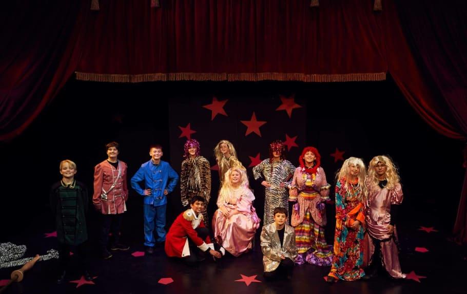 Behind the scenes at Year 7 Pantomime thumbnail image