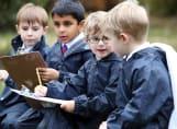 Fairfield children having fun at Forest School