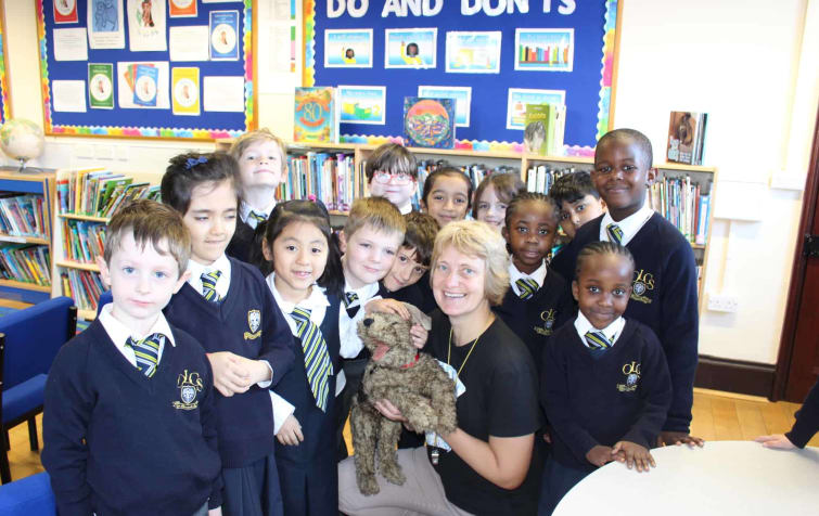 Local Author Steams in to the Prep School featured image