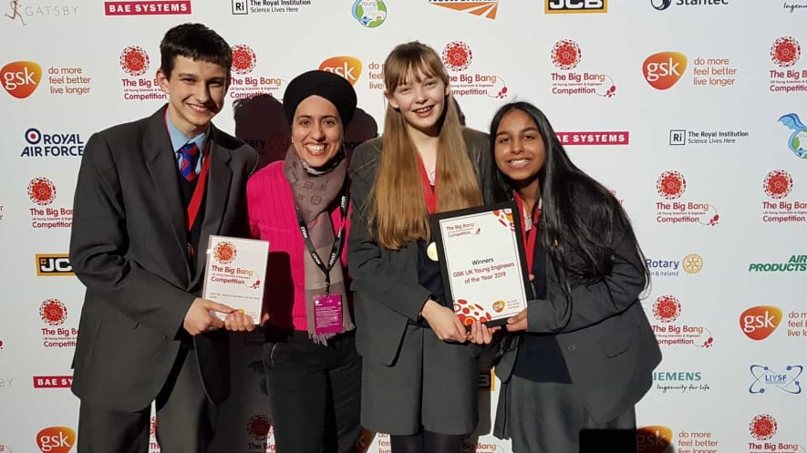 LSF students win young engineer of the year