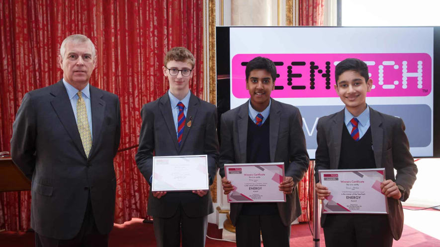 Teen Tech Awards Bio Pump