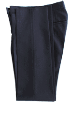 Unhemmed Trousers