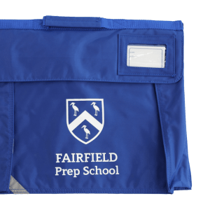 Fairfield Blue Book Bag