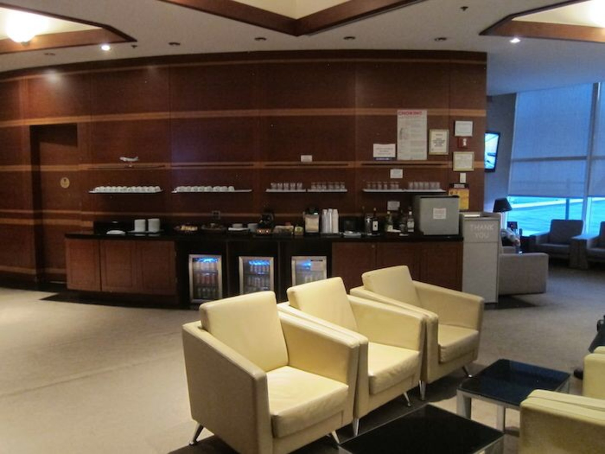 Korean Air Business Class Lounge