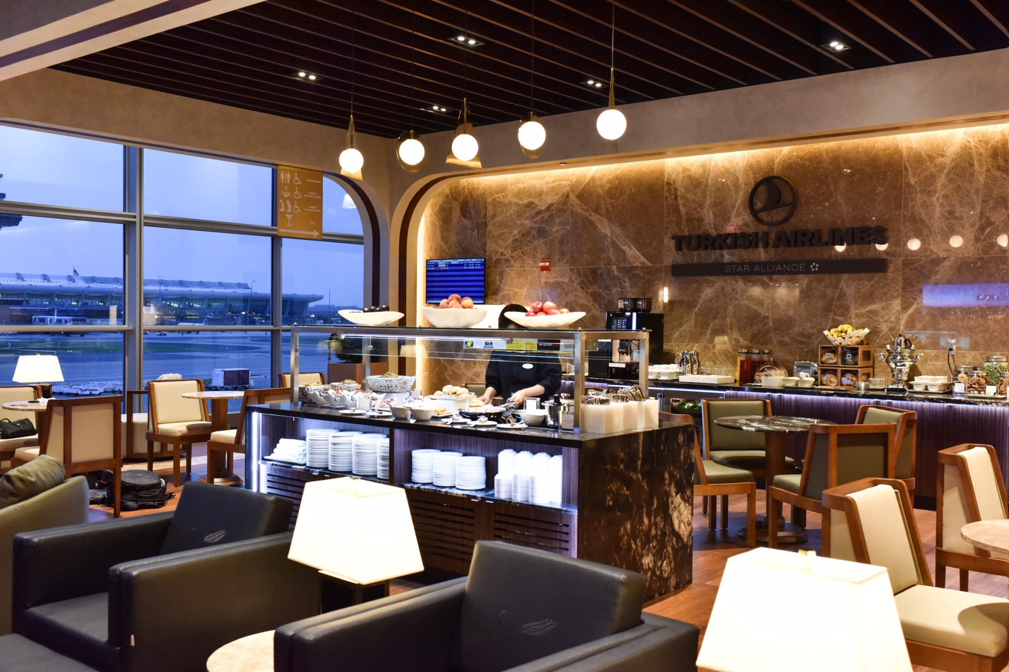more IAD Turkish Airlines Lounge Washington