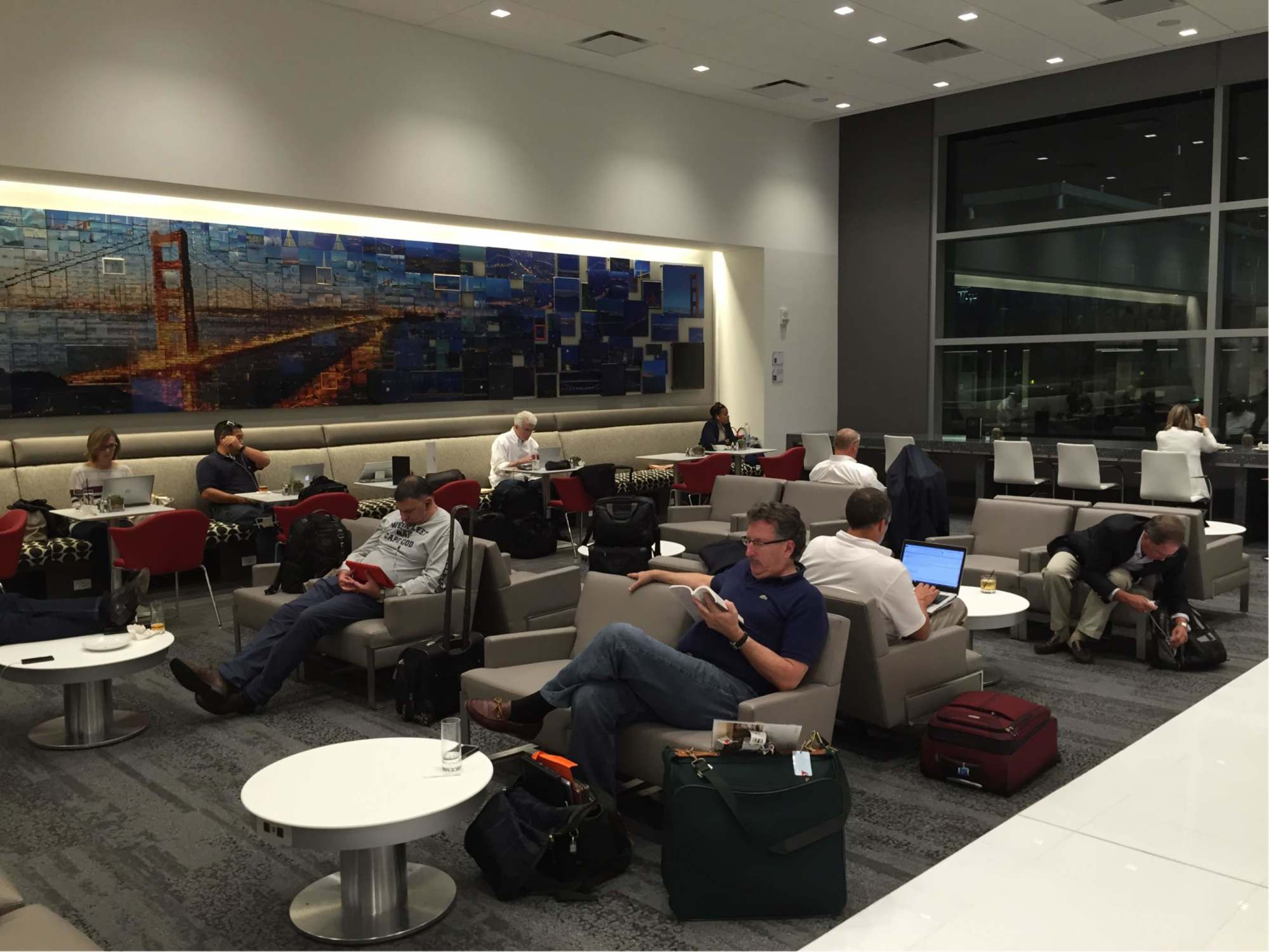 American Express Platinum Customer Service >> SFO: Delta Air Lines Delta Sky Club Reviews & Photos - Terminal 1, San Francisco International ...