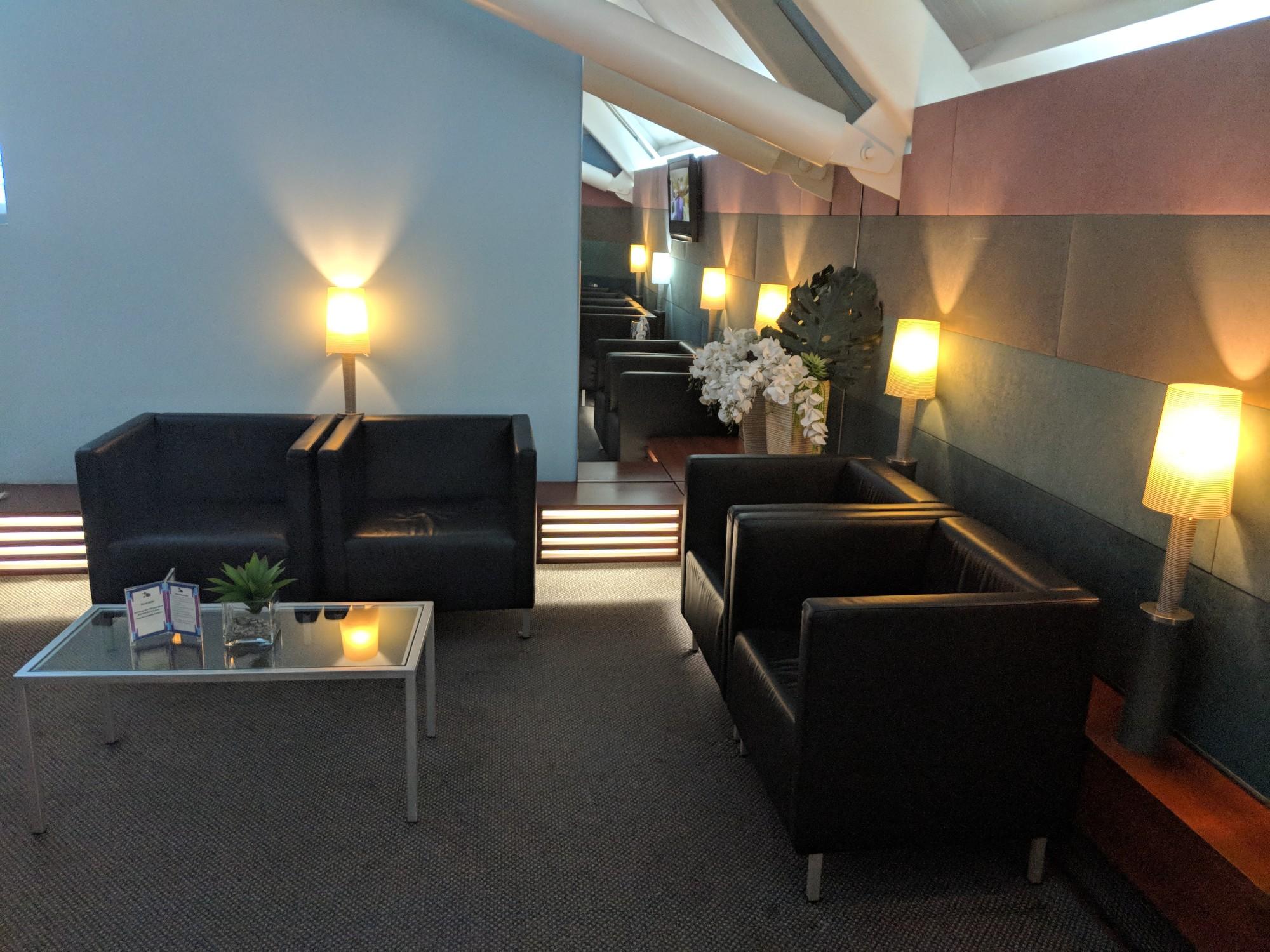 CUR: CAP VIP Lounge Reviews & Photos - Main Terminal, Curacao