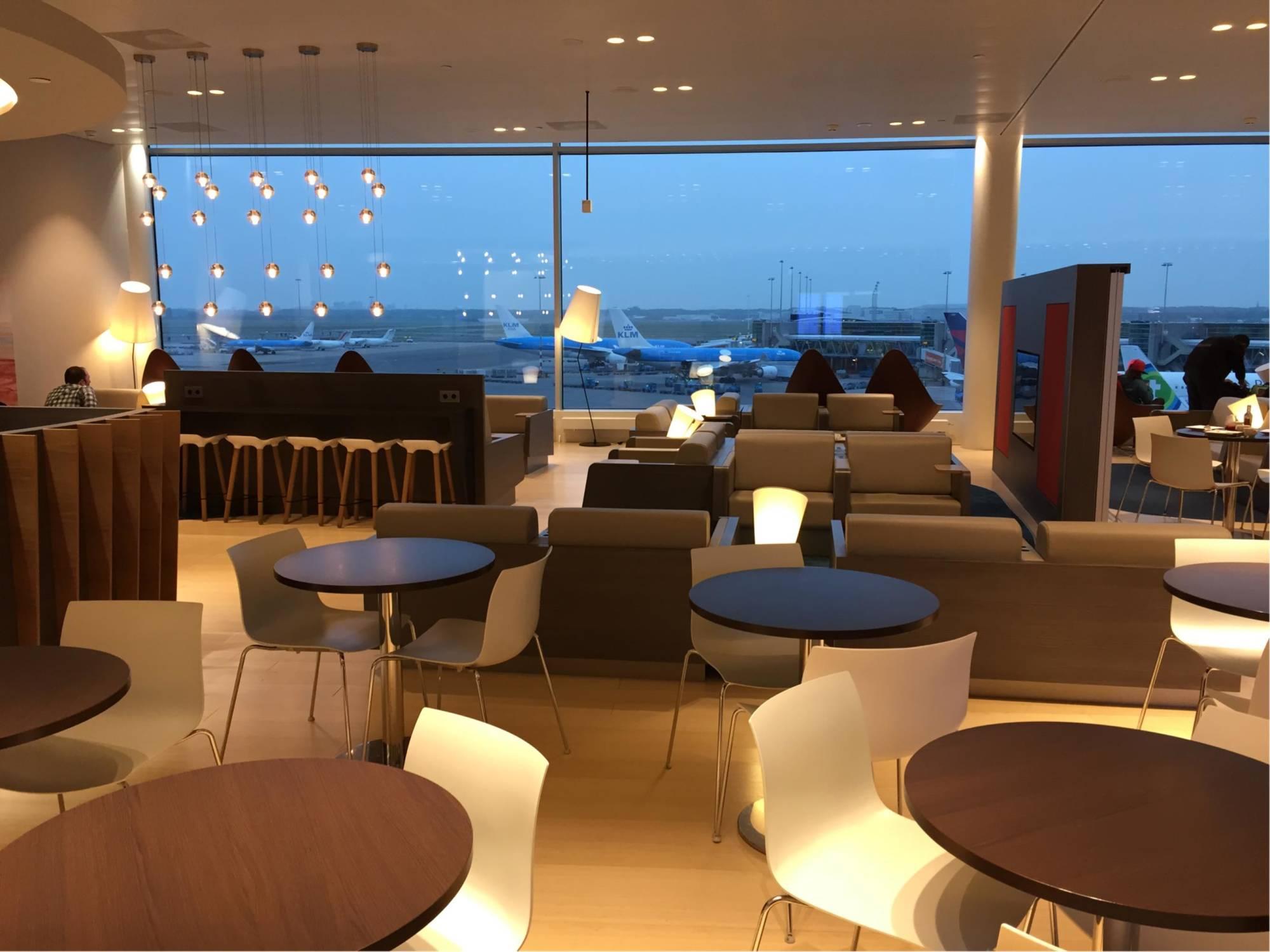 Ams Aspire Lounge 41 Non Schengen Reviews Amp Photos