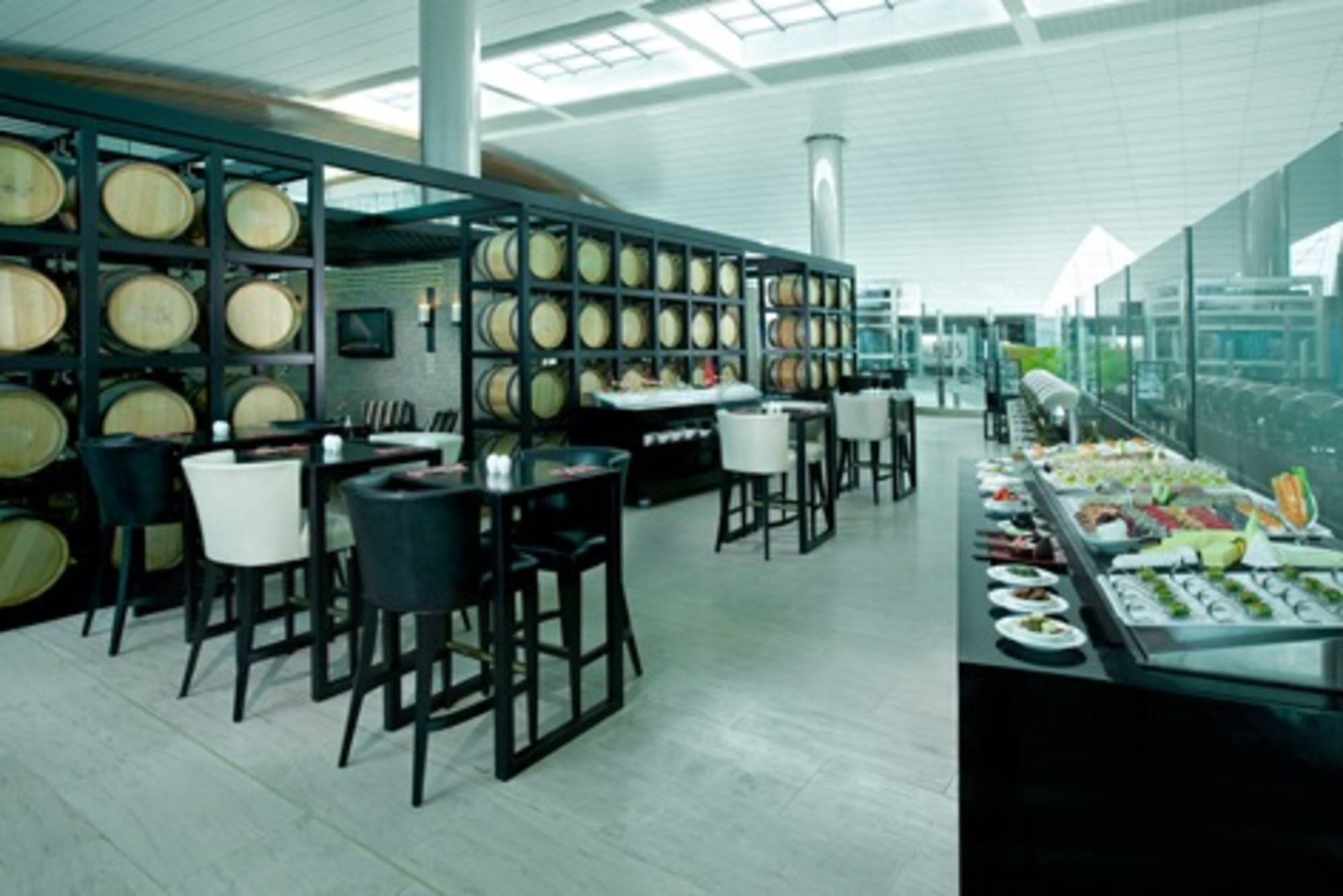 DXB: Lounge @ B Reviews & Photos - Terminal 3, Concourse B, Dubai ...