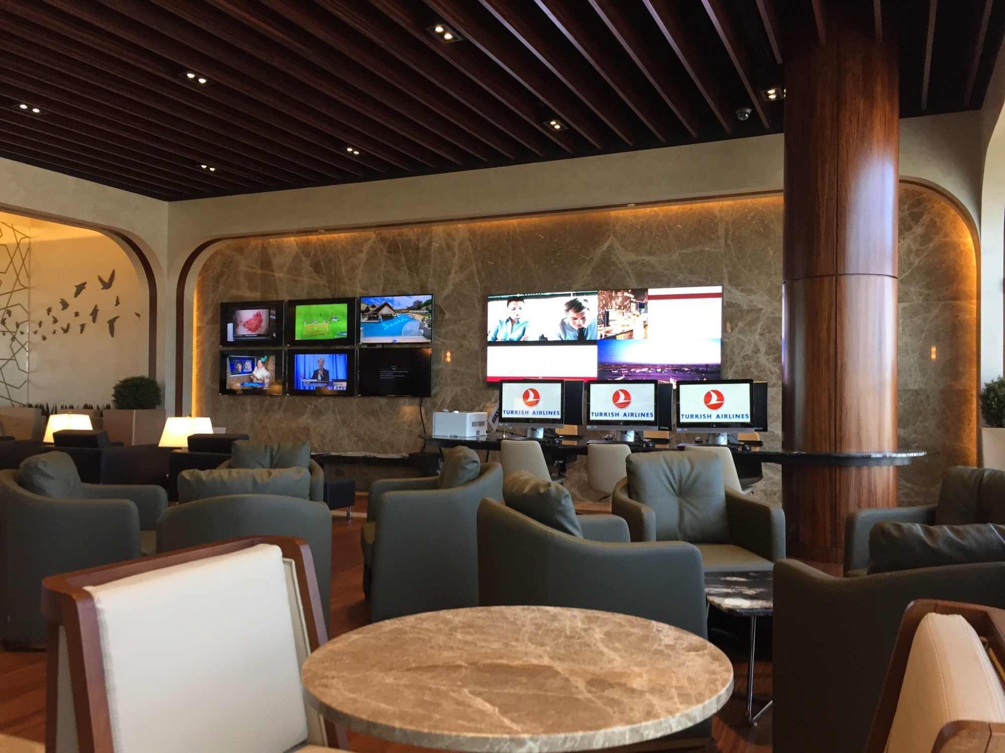 IAD Turkish Airlines Lounge Washington D C Reviews & s