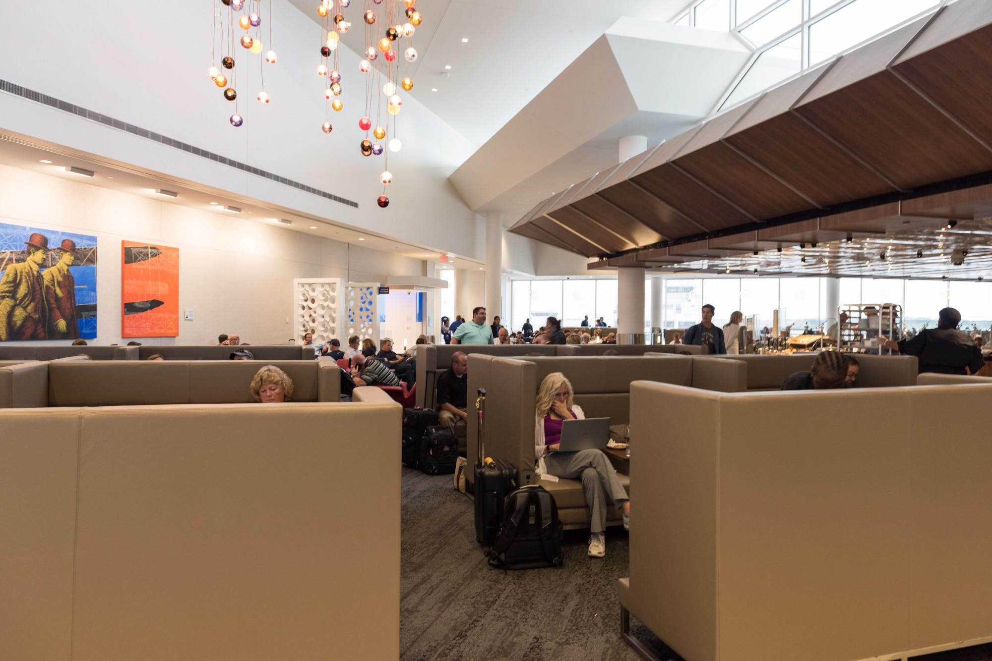 ATL Delta Air Lines Delta Sky Club Gate B Reviews Photos - Bathroom partitions atlanta ga