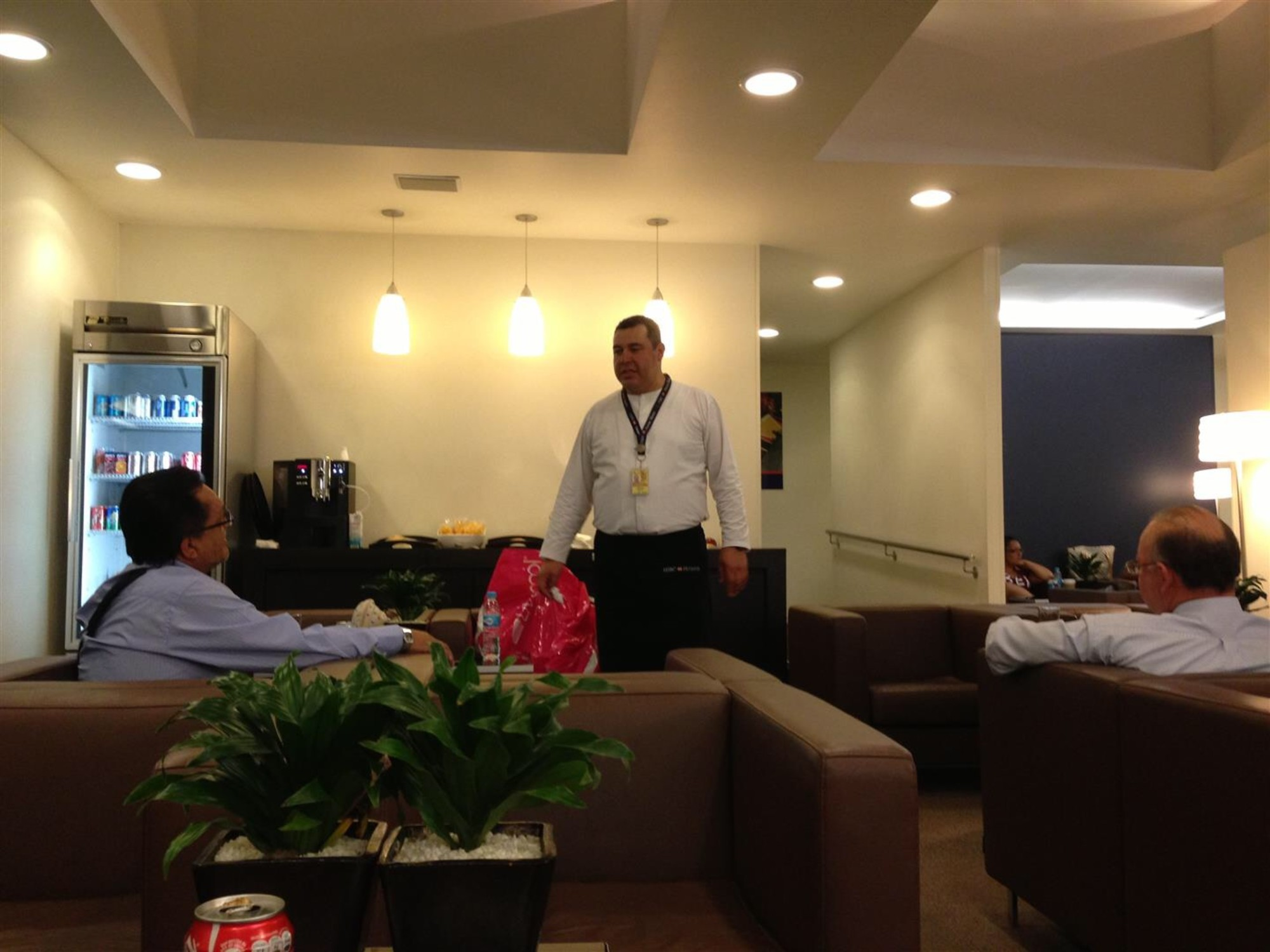 MEX: HSBC Premier Lounge Reviews & Photos - Terminal 2