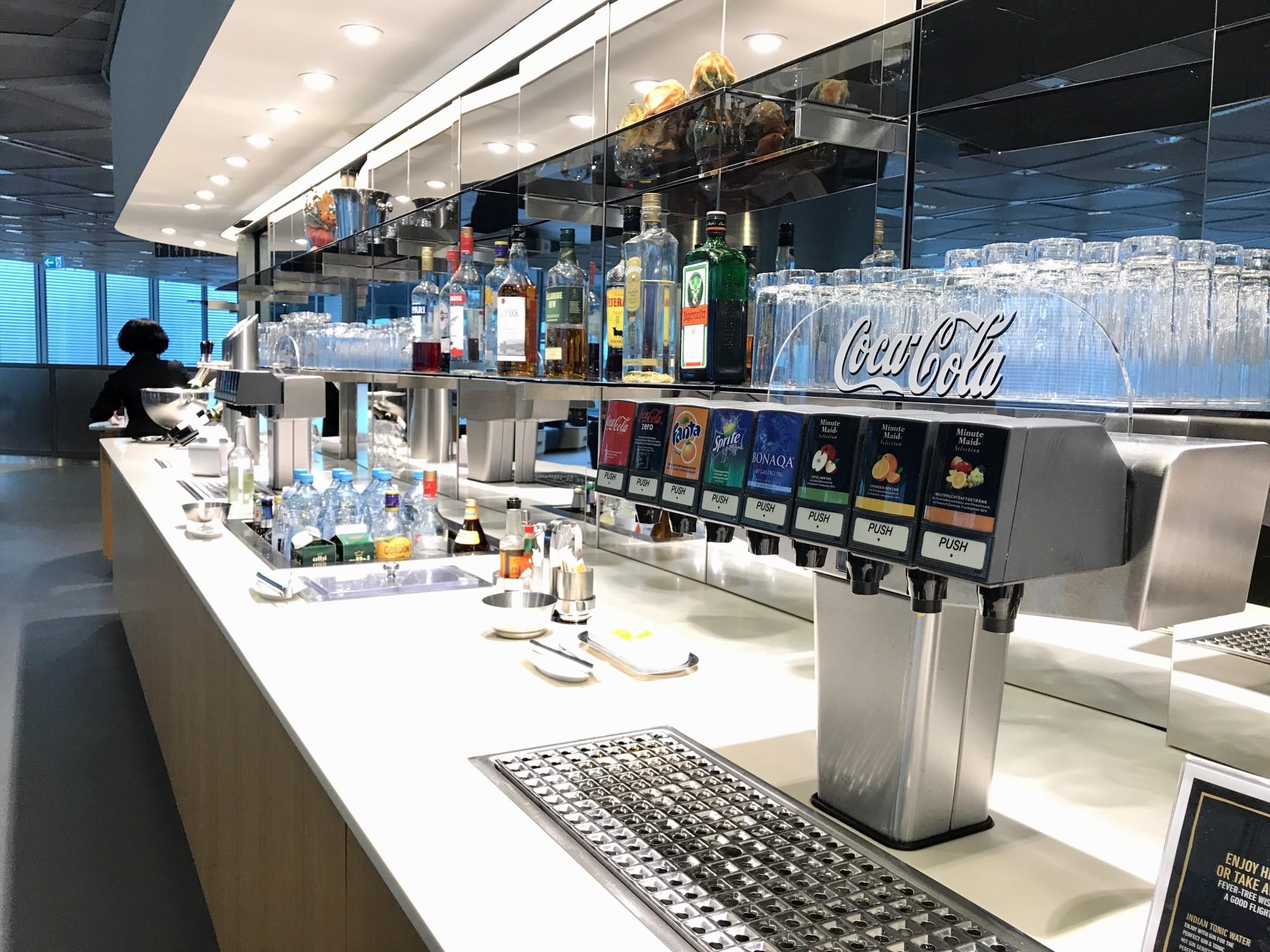 Lufthansa Business Lounge (Non Schengen, Gates B44 B48)