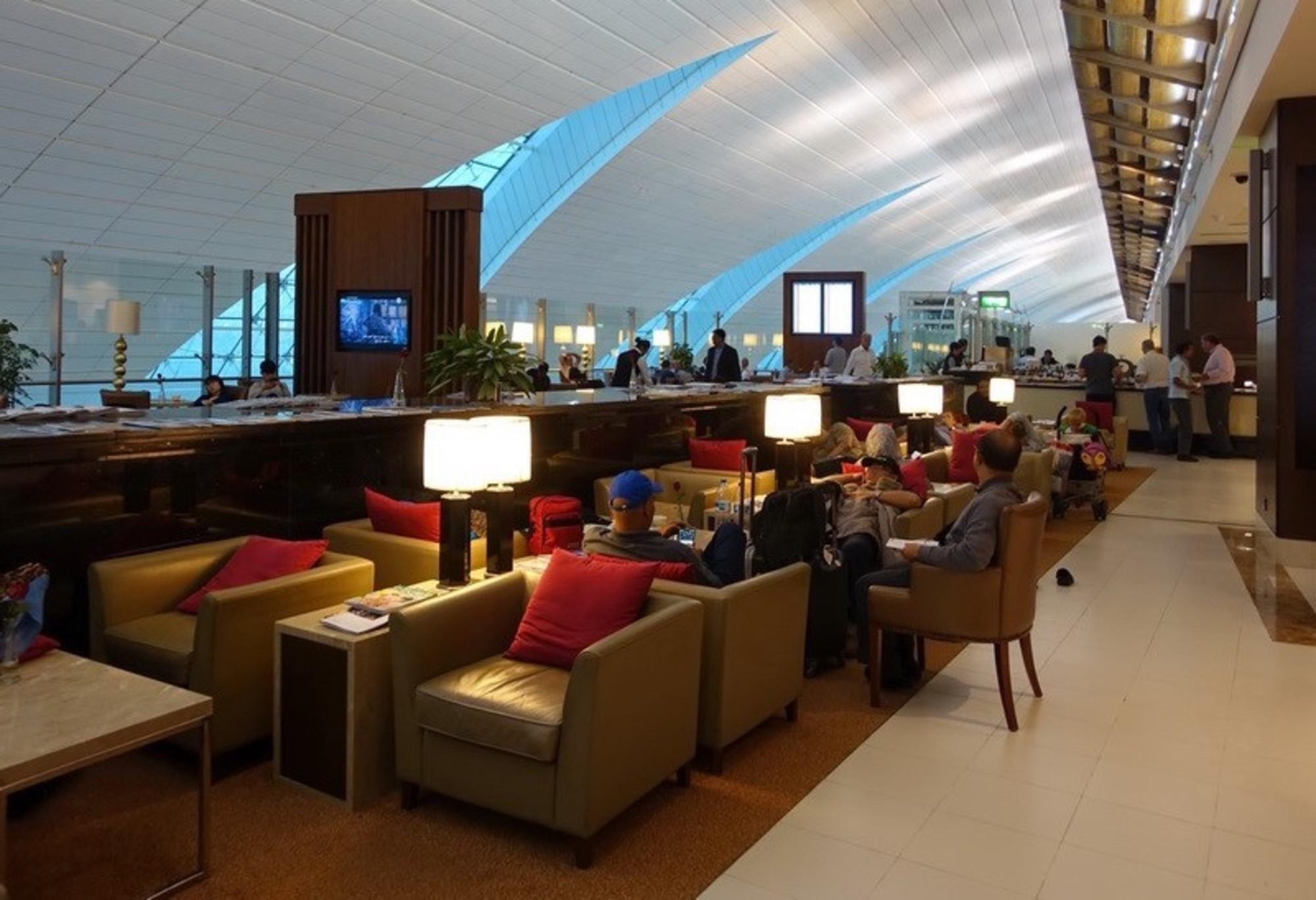 DXB: Marhaba Lounge Reviews & Photos - Terminal 3, Concourse A ...