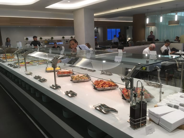 mia: american airlines flagship first dining reviews