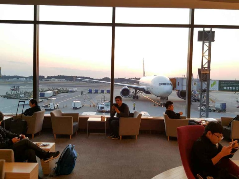 NRT: Korean Air KAL Lounge Reviews & Photos - Terminal 1