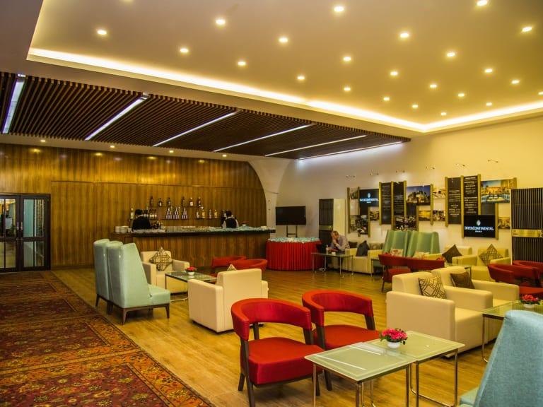 DAC: InterContinental Dhaka Balaka Executive Lounge Reviews & Photos
