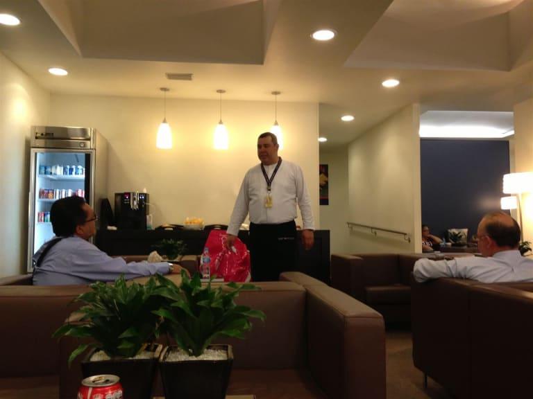 MEX: HSBC Premier Lounge Reviews & Photos - Terminal 2, Mexico City