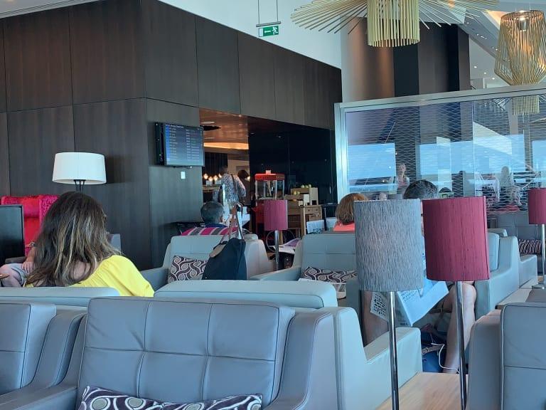 LGW: British Airways Club Lounge Reviews & Photos - South