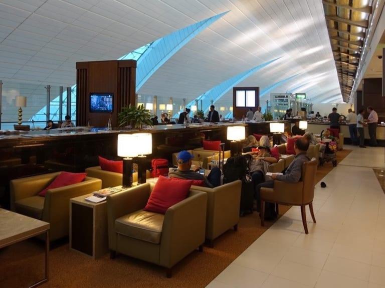 DXB: Marhaba Lounge Reviews & Photos - Terminal 3, Concourse