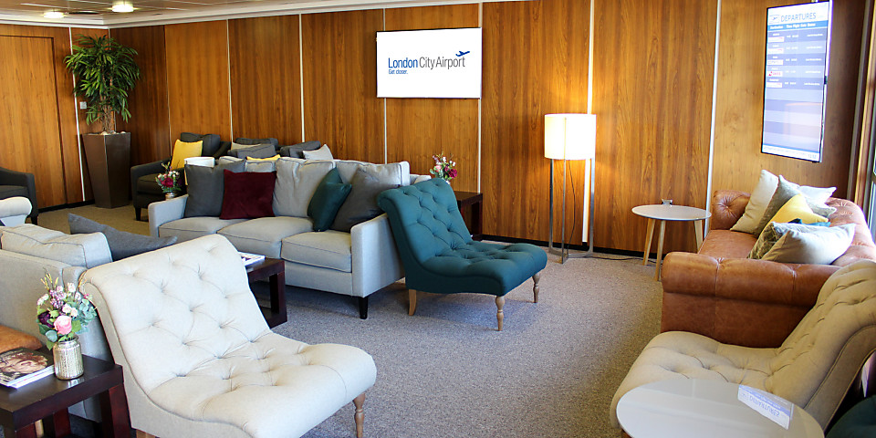 London City Airport Business Lounge (See Notes Before Booking) (LCY)