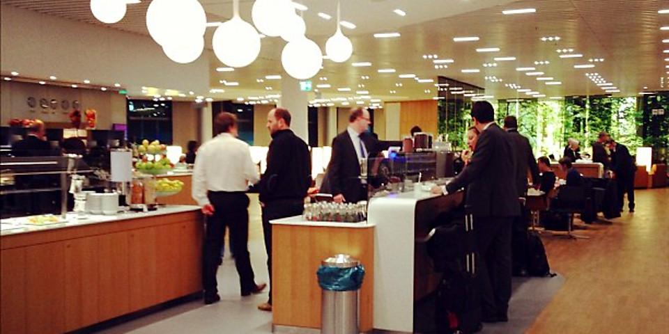 Lufthansa Senator Lounge (Schengen) (FRA)
