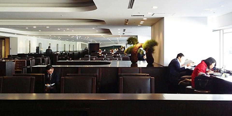 Japan Airlines Diamond Premier Lounge (North Wing) (HND)