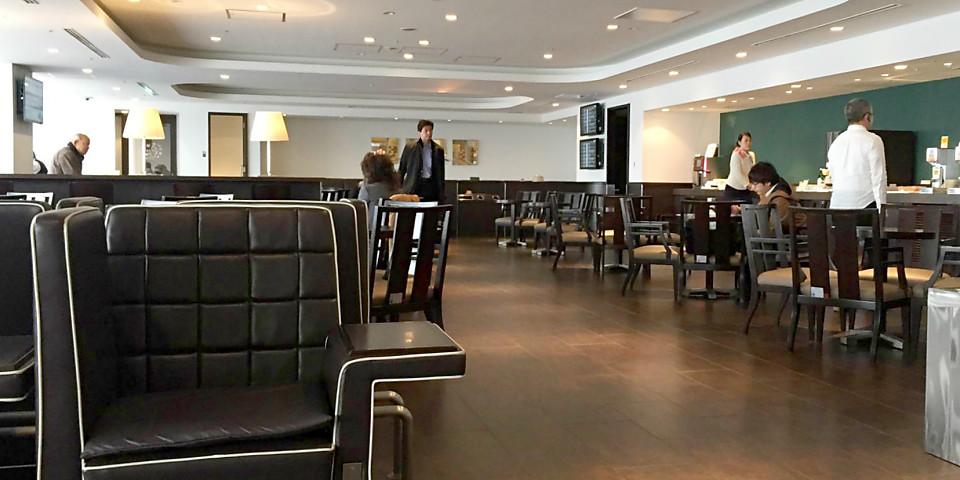 Japan Airlines Sakura Lounge (South Wing) (HND)