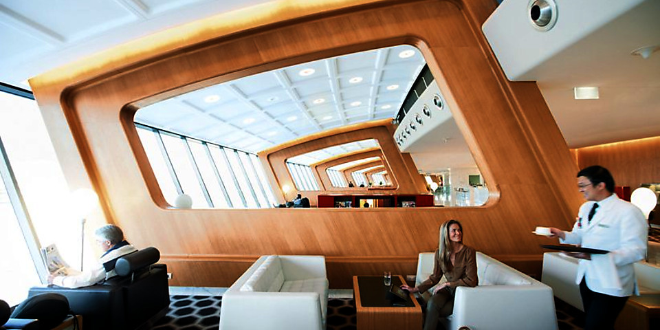 Qantas Airways International First Lounge (SYD)