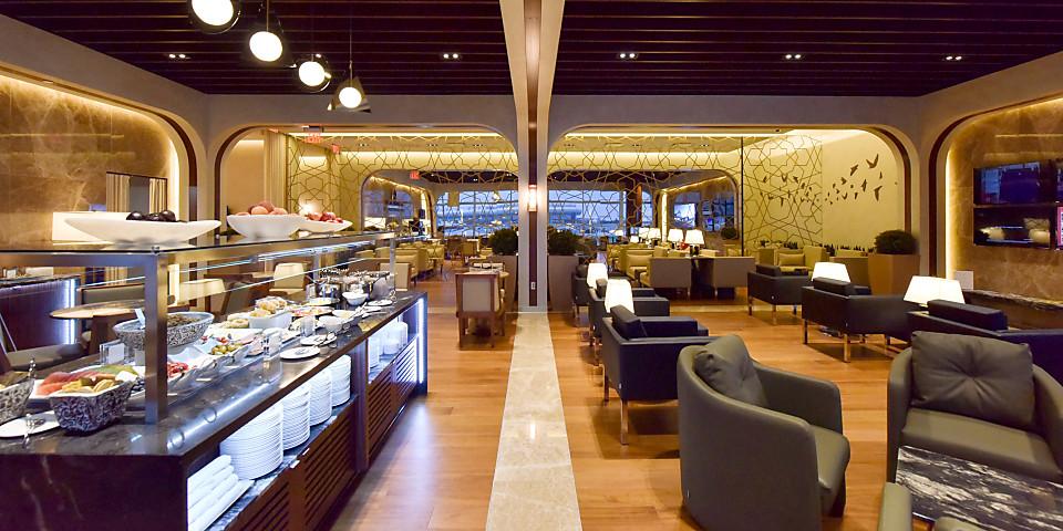 Turkish Airlines Lounge Washington D.C. (IAD)