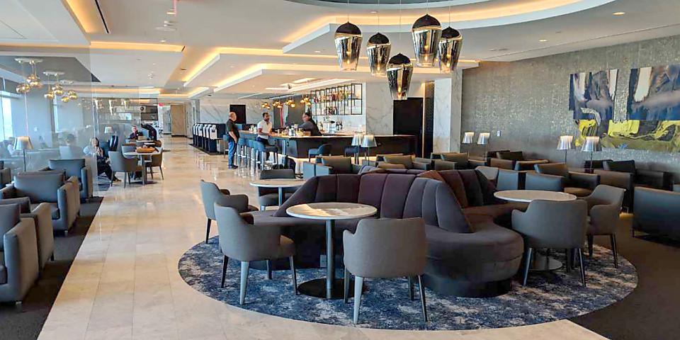 United Airlines Polaris Lounge (SFO)