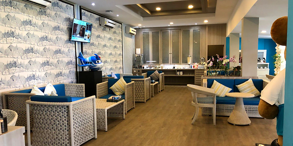 Bangkok Airways Blue Ribbon Lounge (International) (USM)