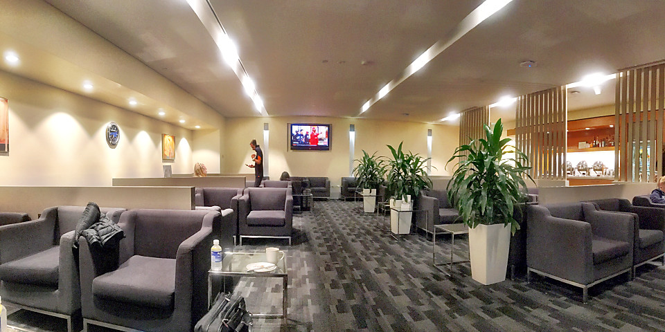 Singapore Airlines SilverKris Business Class Lounge (PER)