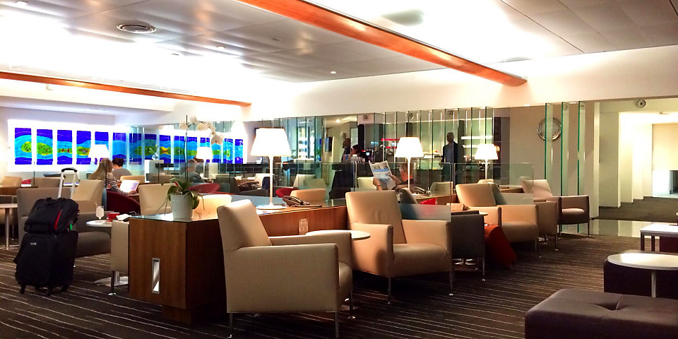 Qantas Airways International Business Lounge (WLG)