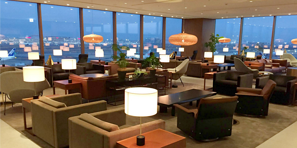 Cathay Pacific Lounge (HND)