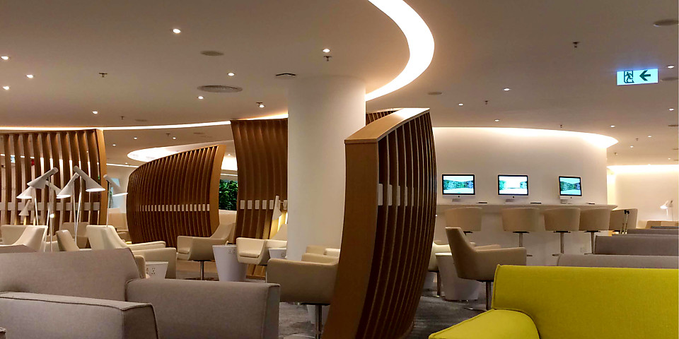 SkyTeam Lounge (HKG)