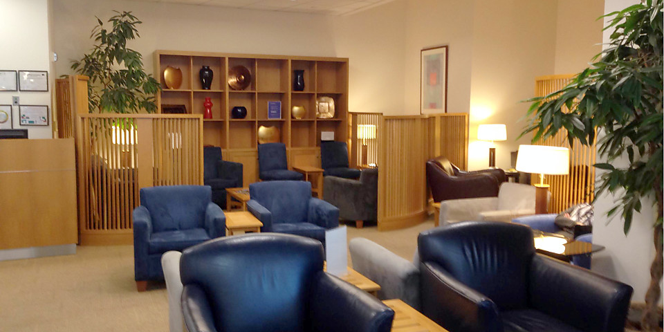 British Airways Terraces Lounge (SFO)