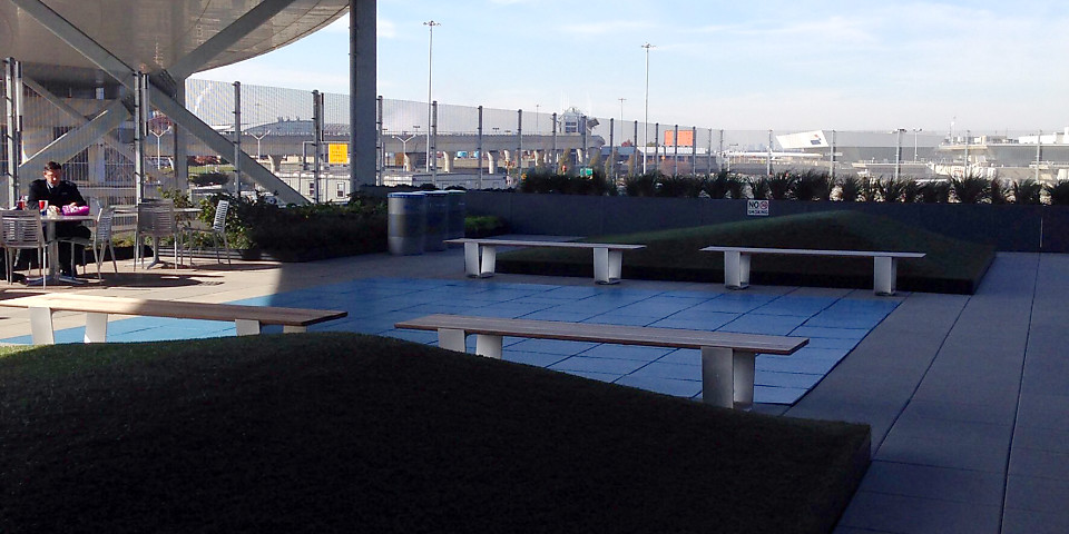 JetBlue Rooftop Terrace (JFK)